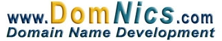 DomNics.com Domain Names for Sale listings