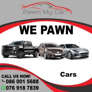 Pawn My Car - Instant cash loans against any asset