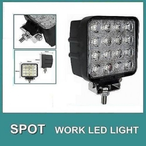 "48W Sqaure Type LED Work Light 4.5""/12cm 48W 12 or"