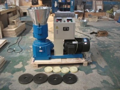 Electric and Diesel Flat Die pellet machines