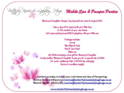Mobile Spa & Pamper Parties