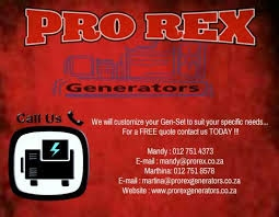 Eskom can't give u light phone Prorex Generatators