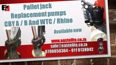 Pallet jack Replacement Pumps