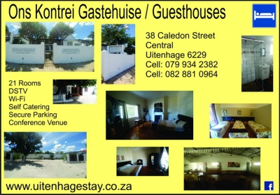 Guesthouses & Catering - Uitenhage Stay