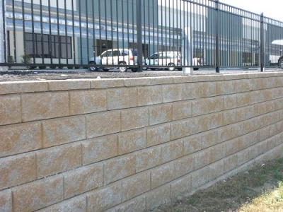 Boundary Wall, Block, Brick, Crete Block, Cement B