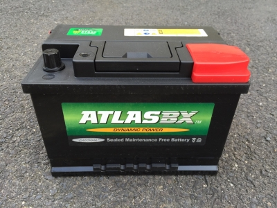 Atlas 638 12v 80ah Taxi Battery - Maiden Electroni