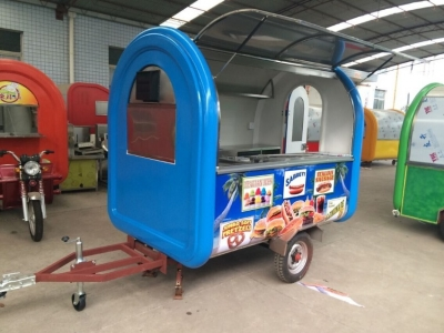 Custom Made Food Trailers